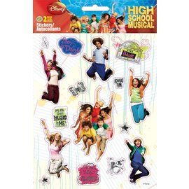 Stickers-High School Musical-1pkg-2 Sheets  (Discontinued)