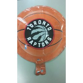 Foil Balloon - Basketball - Raptors - 18""