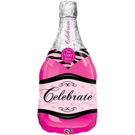 Foil Balloon-Supershape-Celebrate Bottle-39""