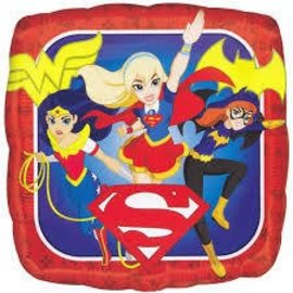 Foil Balloon - DC Superhero Girls - 17""