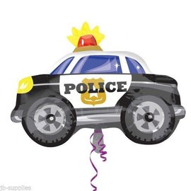 "Foil Balloon-Police Car 24"""