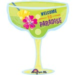 Foil Balloon-Supershape-Welcome to Paradise Margarita