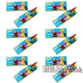 Crayons - Sesame Street 12pk