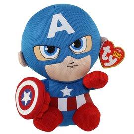 """Beanie Boos - Captain America 6"""""""