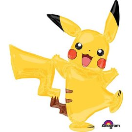Foil Super Shape Balloon-Pikachu