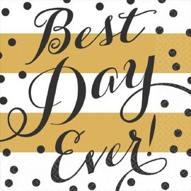 Napkins LN-Best Day Ever-16pk-2ply- Discontinued