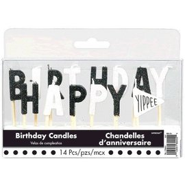 Candles Chalk Birthday Party