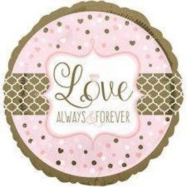 Foil Balloon-Love Always and Forever-18''