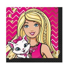 Beverage Napkins- Barbie- Final Sale