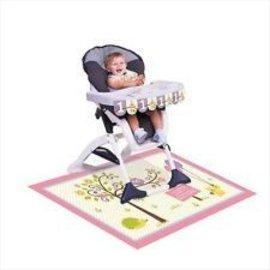 High Chair Kit - 1st Birthday - Girl