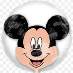"""Foil Balloon - Mickey Mouse Insiders 24"""""""