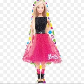 "Foil Balloon - Barbie SuperShape 42"""