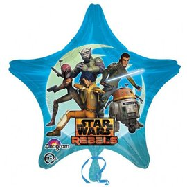 Foil Balloon - Star Wars 2 Sided Star 28""