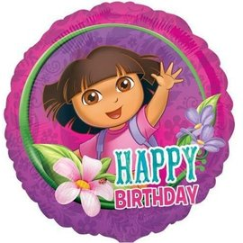 Foil Balloon -Dora the Explorer - 17""