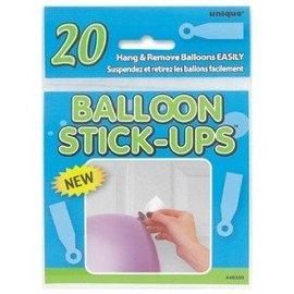 Balloon Stick-Ups - 20pk