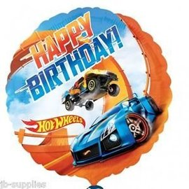 Foil Balloon - Hot Wheels