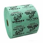 Ticket Roll 50/50 - 1000 Tickets