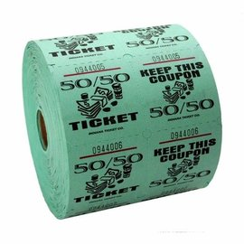 Ticket Roll 50/50 - 1000 Tickets
