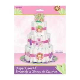 Diaper Cake Kit - Pink