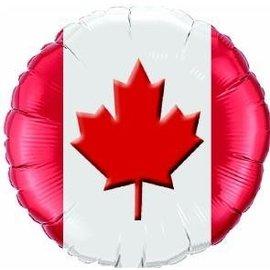 Foil Balloon - Canada Maple Leaf