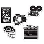 Cutouts - Mini Movie Set-4.5''~5''-10pk