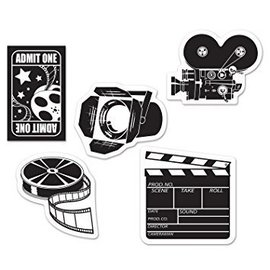 Cutouts - Mini Movie Set-4.5''~5''-10pk