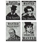Sign Cutouts-Wanted-Sherlock Holmes - 15.25''-4pk
