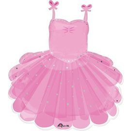 Foil Balloon-Supershape-Classic Ballerina Tutu