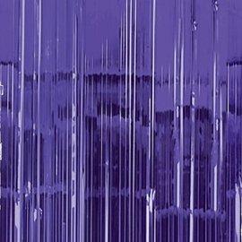 Door Curtain- Purple- 3ft x 8ft