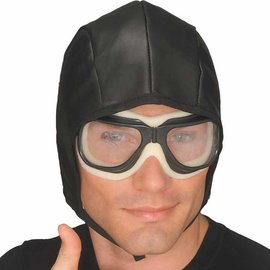 Aviator Helmat and Goggles