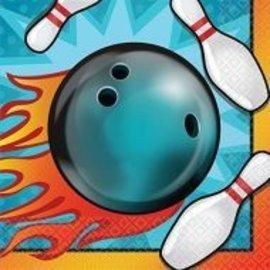 Napkins - BEV - Bowling - 16pc