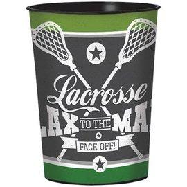 Plastic Cup - Lacrosse - 16oz