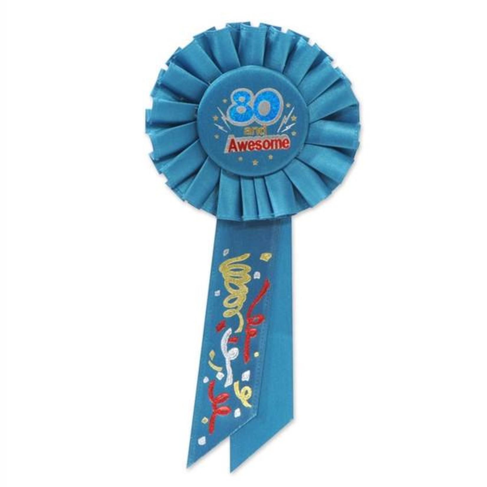 Award Ribbon - 80th