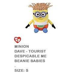 Beanie Boos-Minion 3 Dave-6''