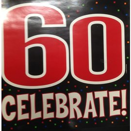 Cutout-60th Celebrate!-15''x14.5''