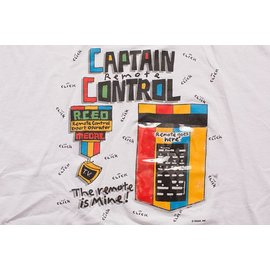 T-shirt - Captain remote control-XL
