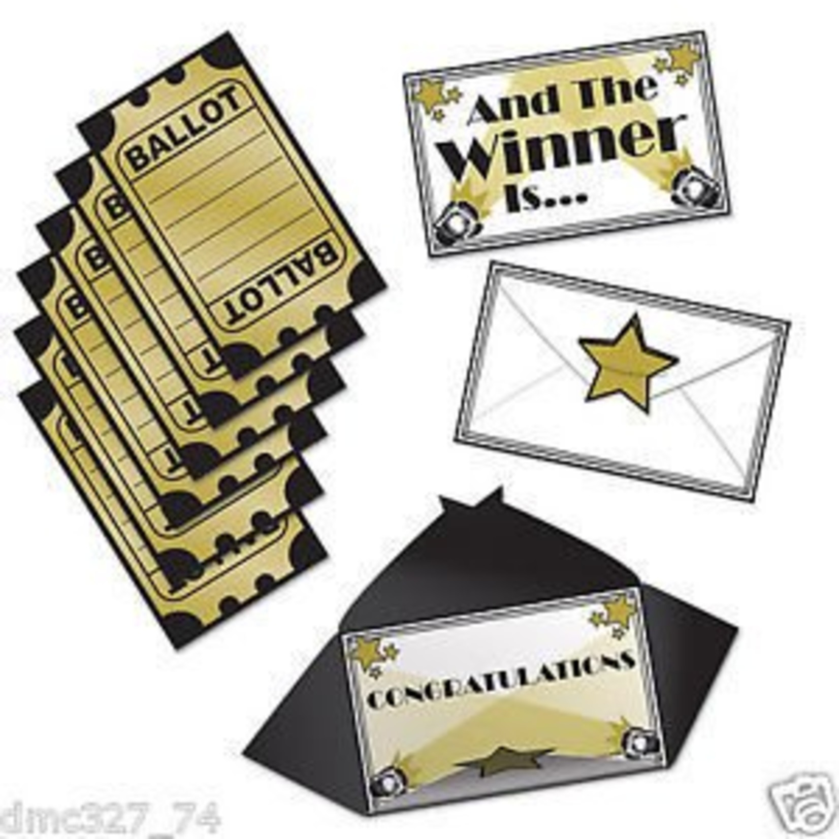 Award Night Ballots-3''x5''-13pk