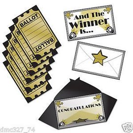 Award Night Ballots-3''x5''-13pk