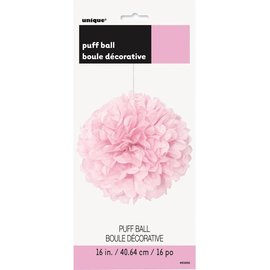 Tissue Ball- Pink-16''