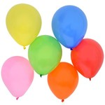 Latex Balloons - Helium Included