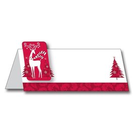 Christmas Place Cards-Prancer