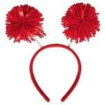 Head Bopper - Pom Pom - Red