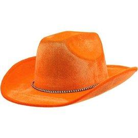 Cow Boy Hat-Orange-Felt