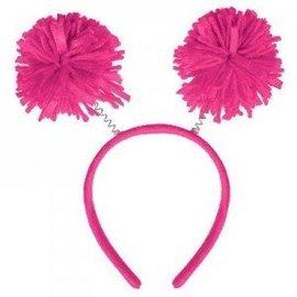 Head Bopper-Pom Pom Pink