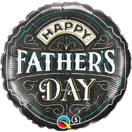 Foil Balloon - Happy Father's Day - 18""