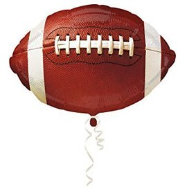 Foil Balloon - Football - 18""