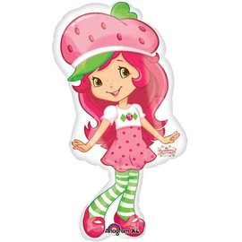 Foil Balloon-Supershape-Strawberry Shortcake-New Gen