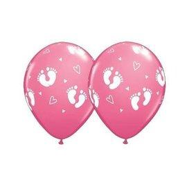 "Latex Balloon - Footprints (12"") -1pc"