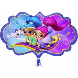 Foil Balloon-Shimmer and Shine-27''x16''