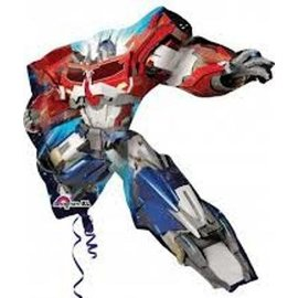 Foil Balloon-Transformers-Super Shape -32'' x 35''